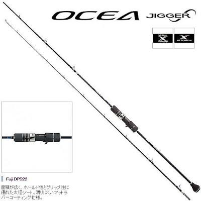 Ocea Jigger Infiniti by Shimano