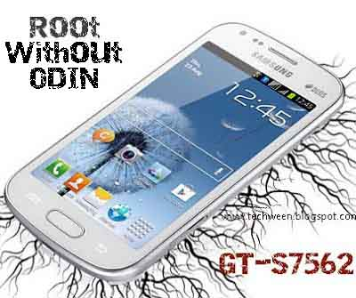 How to Root GT-S7562 without Odin and CWM