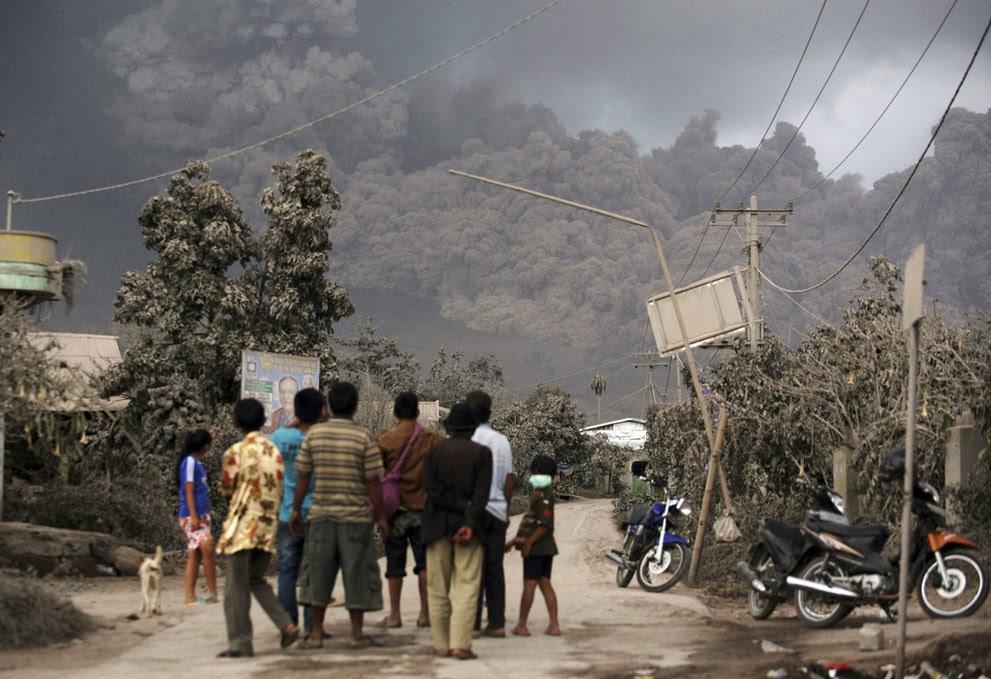 Korban Erupsi Sinabung Bertambah 16 Tewas