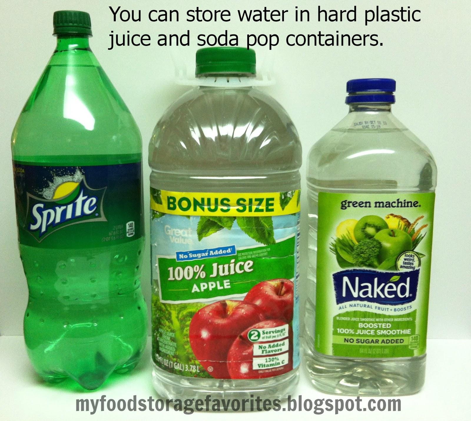 Water Storage  sc 1 st  My Food Storage Favorites & My Food Storage Favorites: Food Storage: Where Do I Begin? WATER!!