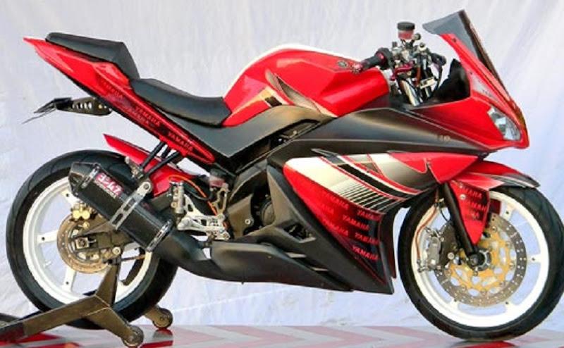 Foto Gambar Modifikasi Motor Yamaha Vixion title=
