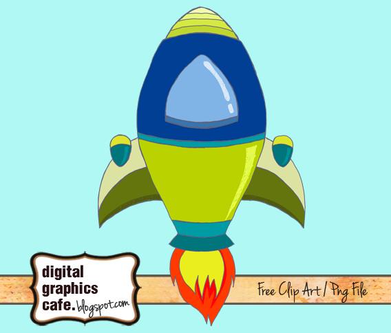 free clipart rocket