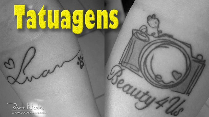 Minhas novas tattoo's