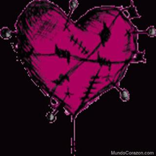 corazones emos