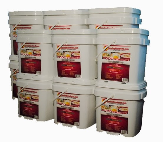 Long term food storage equipment