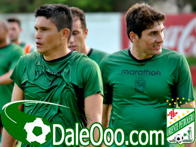 Oriente Petrolero - Jorge Ortiz - Ronald Raldes - Mariano Brau - DaleOoo.com web del Club Oriente Petrolero