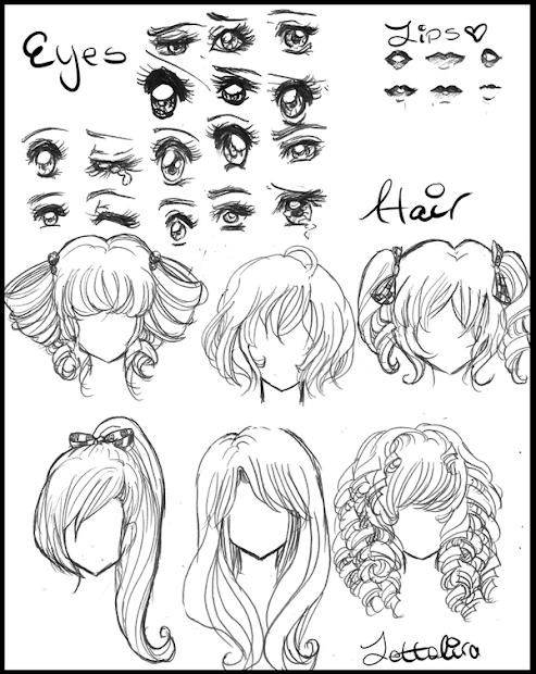 fantasy mode peinados ojos