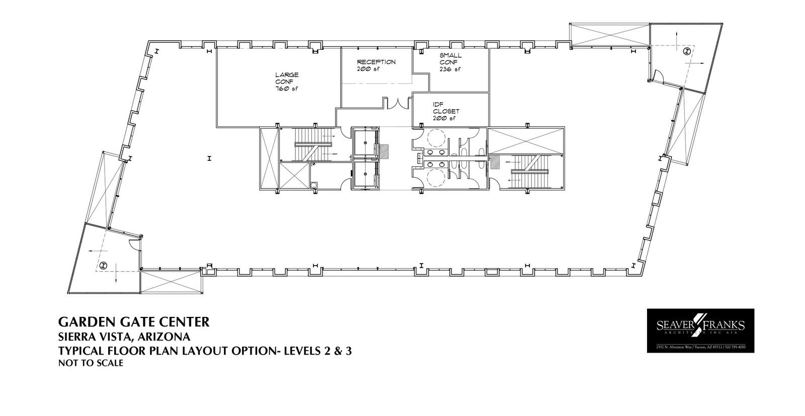 The Garden Gate Center Floor Plan Layout