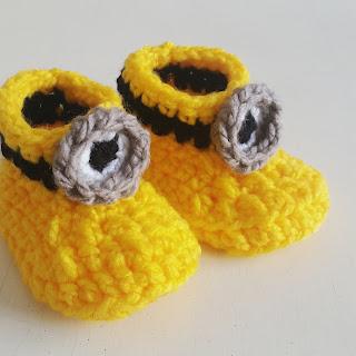 crochet botas