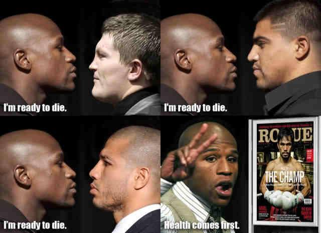 floyd's health comes first
