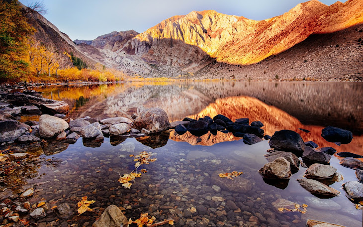Convict Lake Autumn View