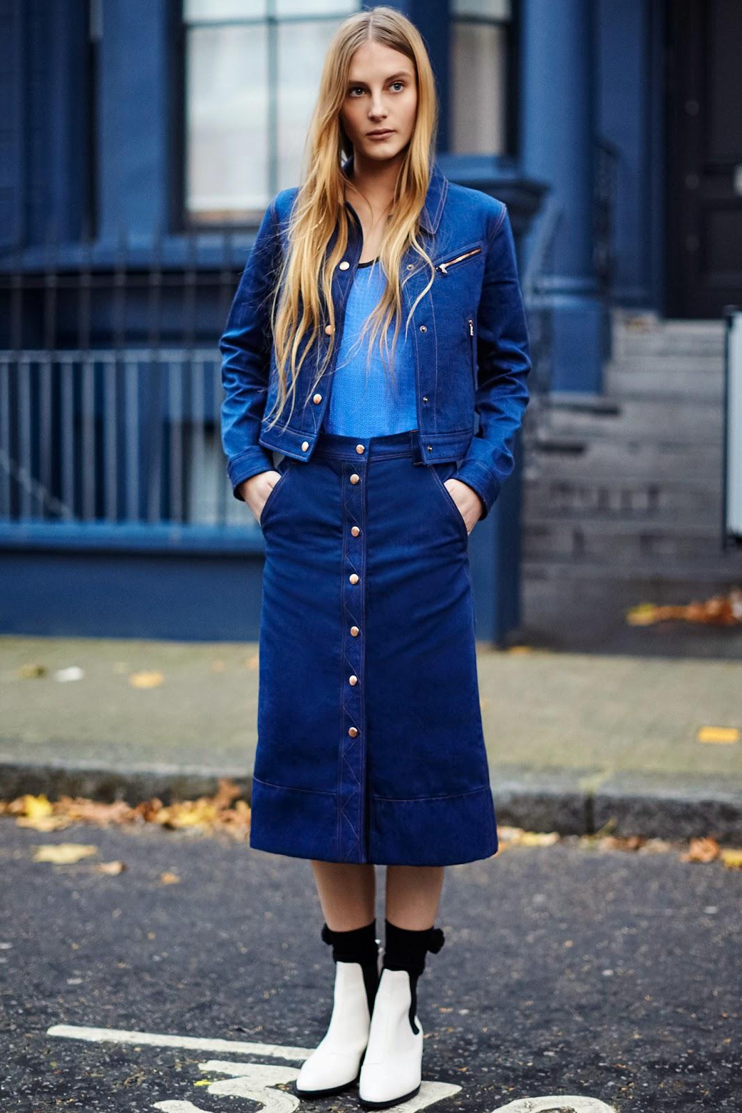Buttoned skirts /Faldas abotonadas Street Style