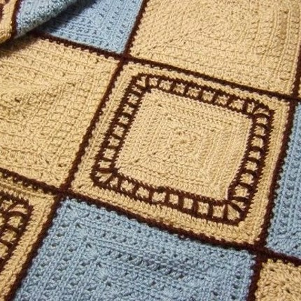Train Tracks Baby Blanket - Free Pattern