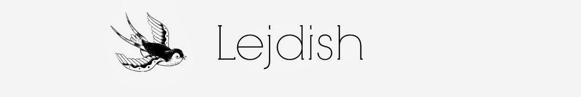 Lejdish blog