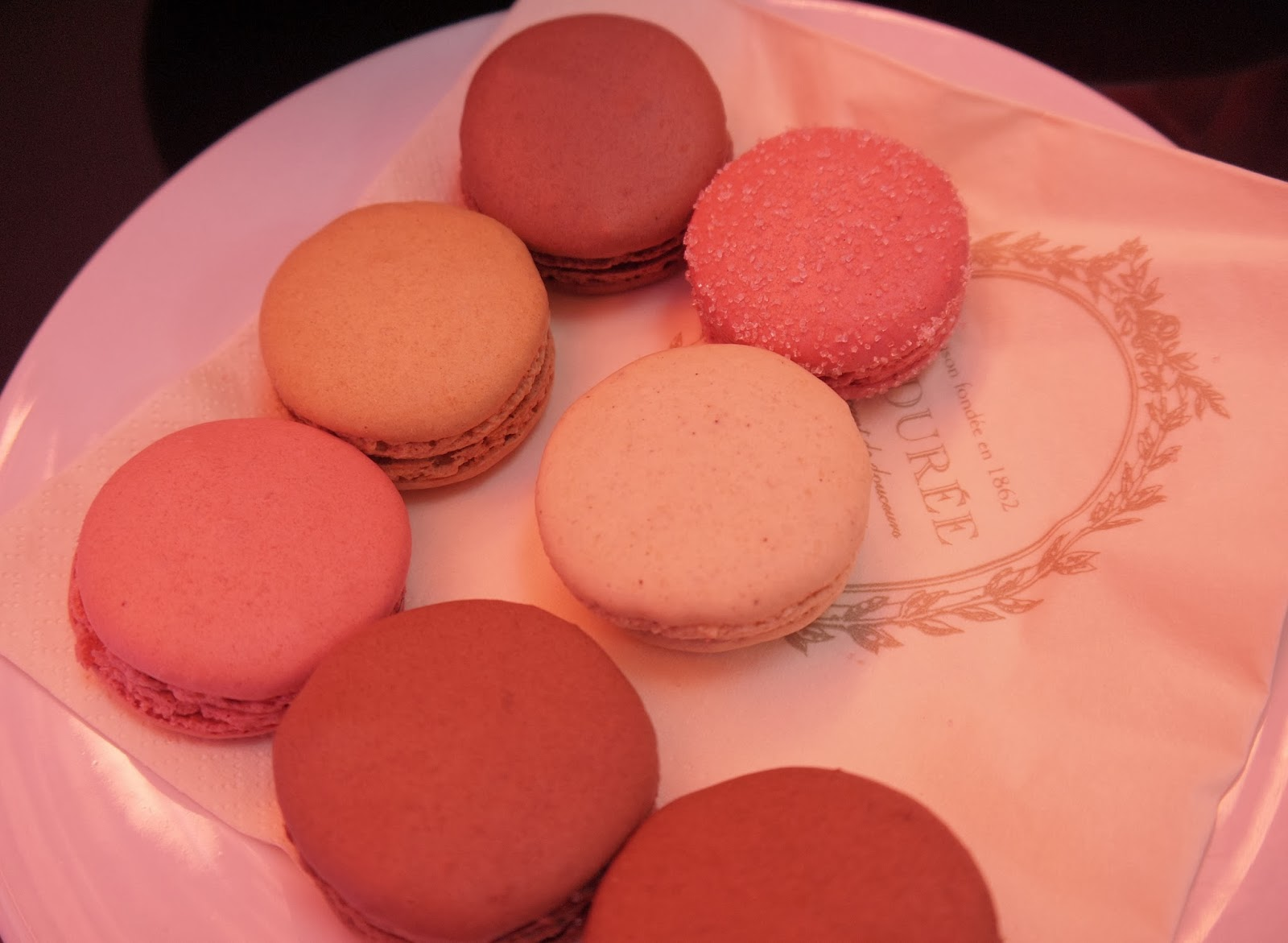 Eating Macaroons has t be the highlight of my thanksgiving Friday