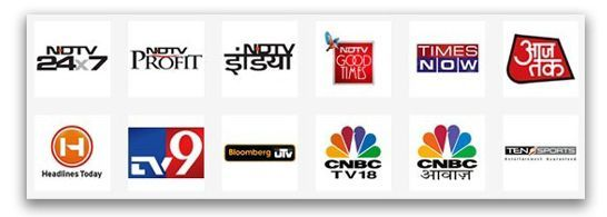 Free TV Channels List