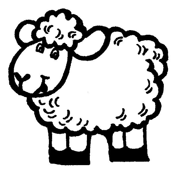 Sheep Template http://gccstudentministry.blogspot.com/2011/04/95-96-97 ...