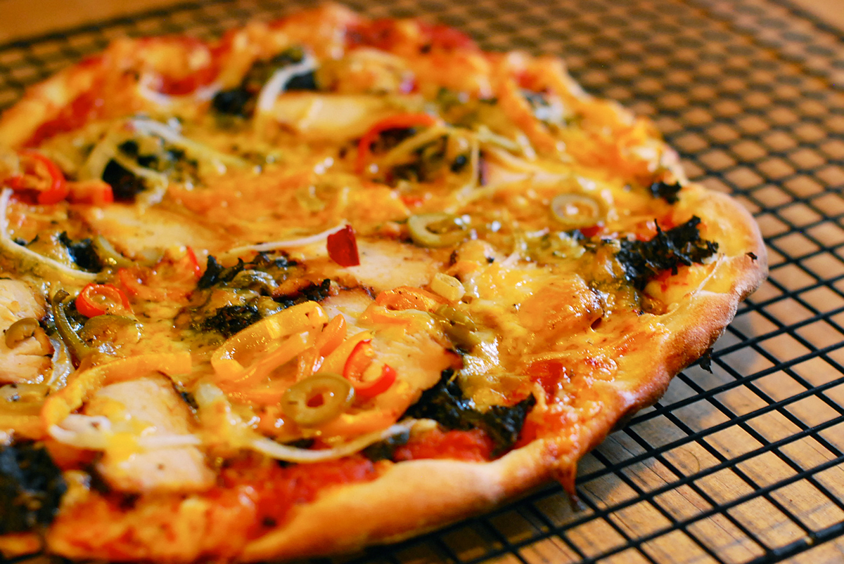 carrot pizza # frd2014 and the carrot puree made thinking carrot pizza ...