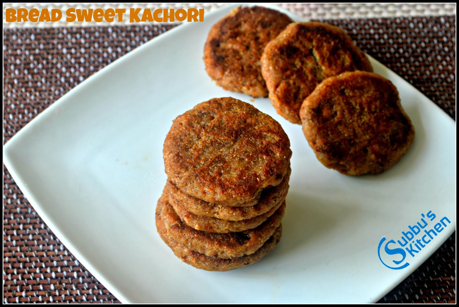 Bread Sweet Kachori