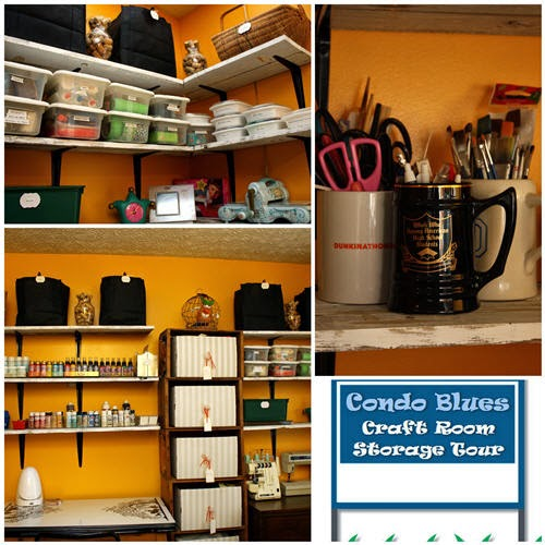 Pin These Craft Room Storage Ideas On Your Pinterest Boards For Later!