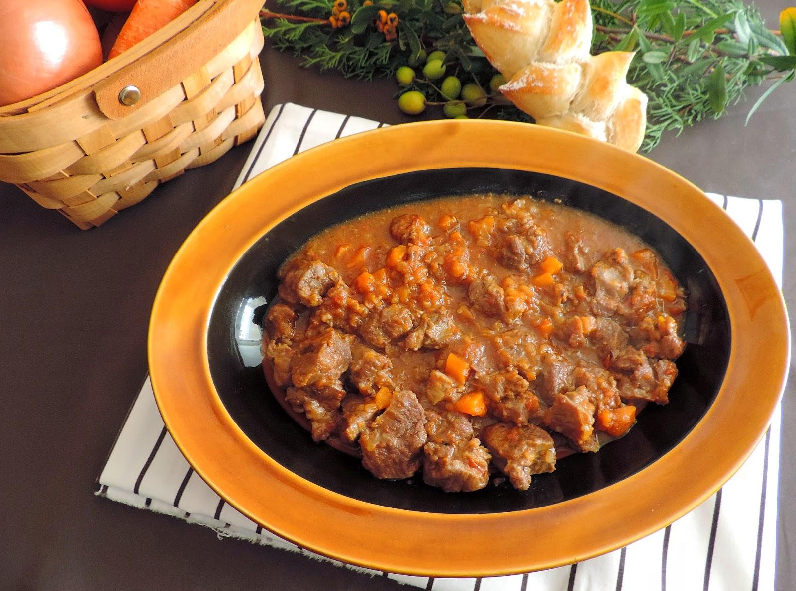 Cocinando con las chachas carrillera de cerdo ib rico a for Cocinar con cookeo