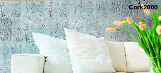 Marzua decorar una pared con corcho Placas de corcho para paredes