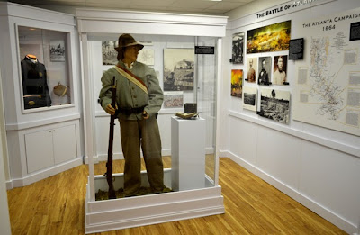 Civil War Exhibits, Road to Tara Museum