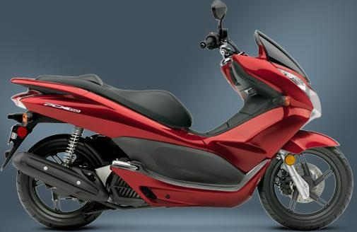 2013 Honda Pcx 150 New Pcx Scooter Line Up Motorcycles