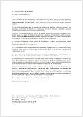 Carta a la Alcaldesa de Madrid