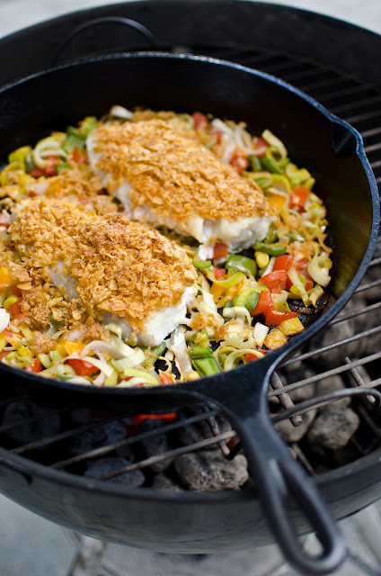 The church cook crusted tripletail for Triple tail fish recipes