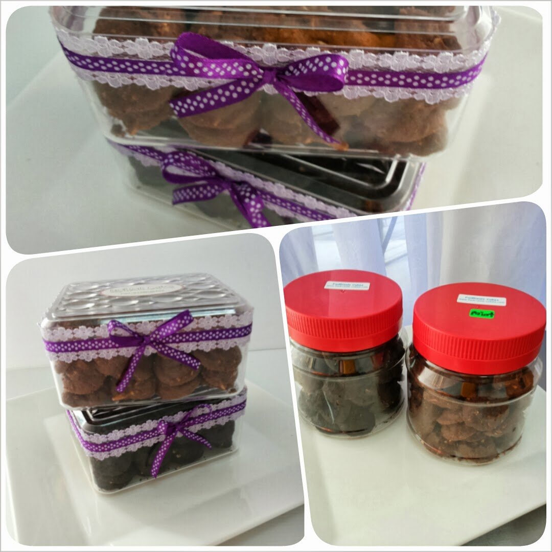 Ready Stock : Black Choc Chip & Mint Choc Chip