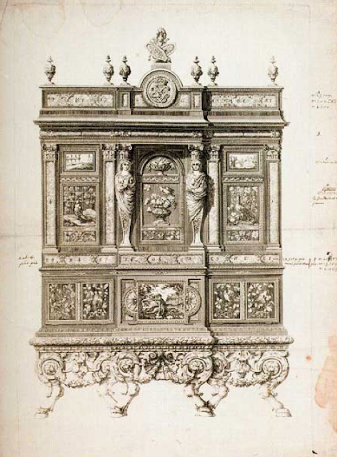 Доменико Куччи (Domenico Cucci, 1635-1704), знаменитый французский мебельный мастер