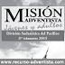Informe Misionero Adultos | 3er Tercer Trimestre 2015