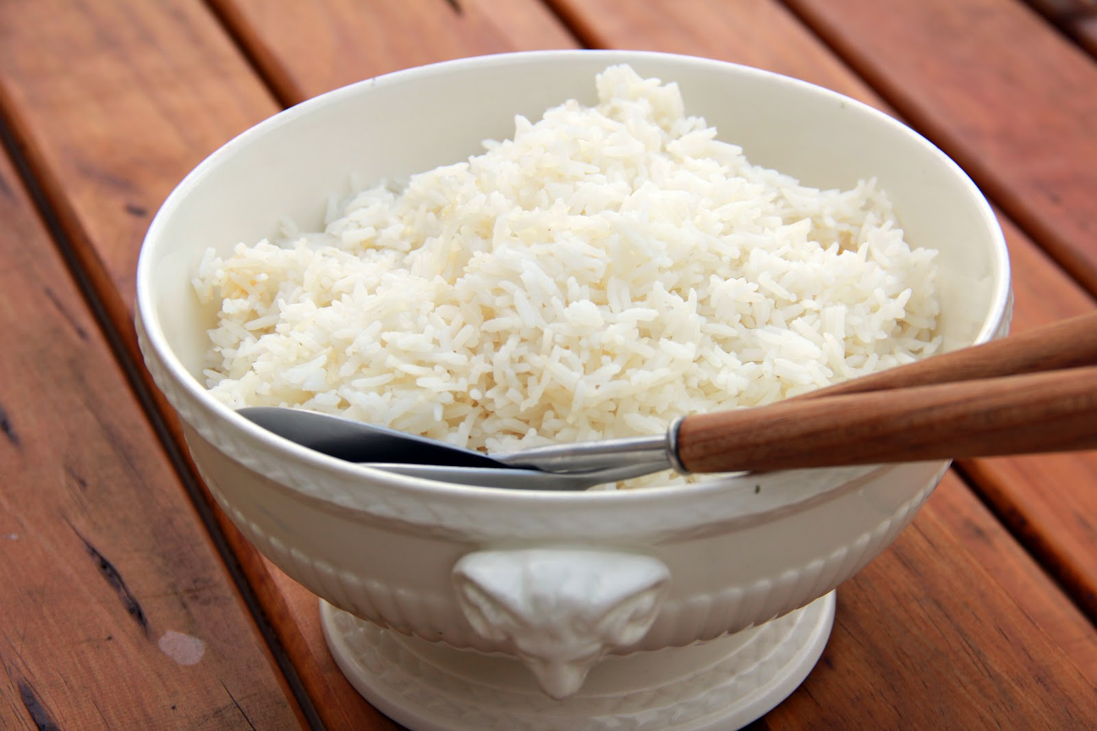 Perfect Steamed Rice | With Love, Mags