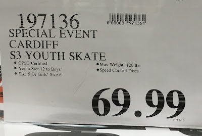 Cardiff S3 Youth Skate at Costco