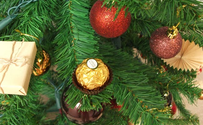 christmas decorations, ferrero rocher christmas