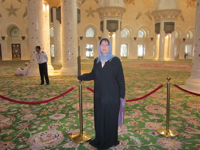 io nella moschea