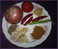Butter Chicken Ingredients (to grind and paste)