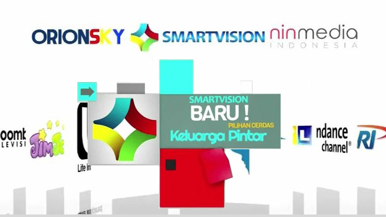 daftar channel smartvision ninmedia indonesia