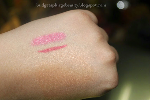 pouty pop crayon comparison swatch