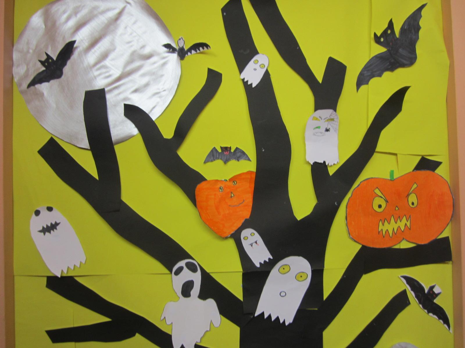 L 39 univers de ma classe happy halloween - Deco halloween enfant ...