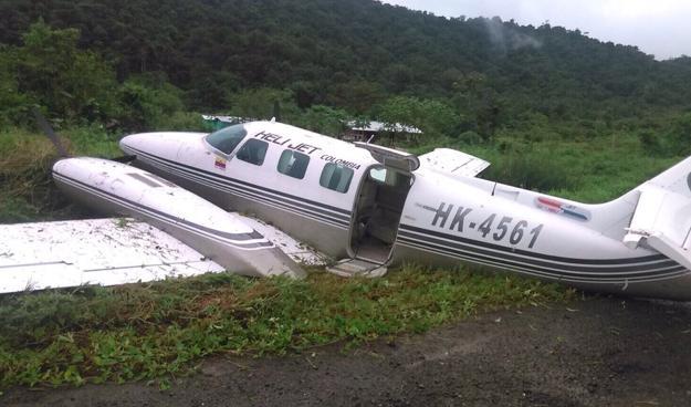 Daños sustanciales al fuselaje provocó la salida de pista del avión tipo Cessna 303 Crusader de matrícula HK-4561 en el Aeropuerto de Bahía Solano.