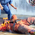 (Gambar) 10 Anggota Bomba Cedera Tangki Diesel Meletup