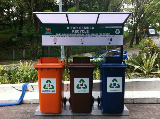 Reduce Reuse Recycle Bins