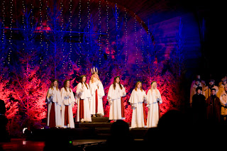 Lucia Celebrations in Stockholm- 2014
