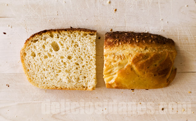 deliciosidades: Pan con patata.