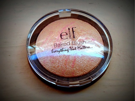 e.l.f+Studio+baked+blush+Pinktastic+Swatch+Review+FOTD