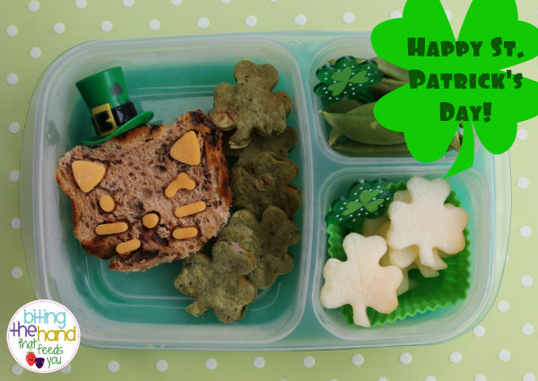 saint patty's pat's cat cutezcute healthy easy school work shamrock green food clover