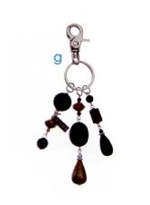 Miche Raven Charmer and Key Chain