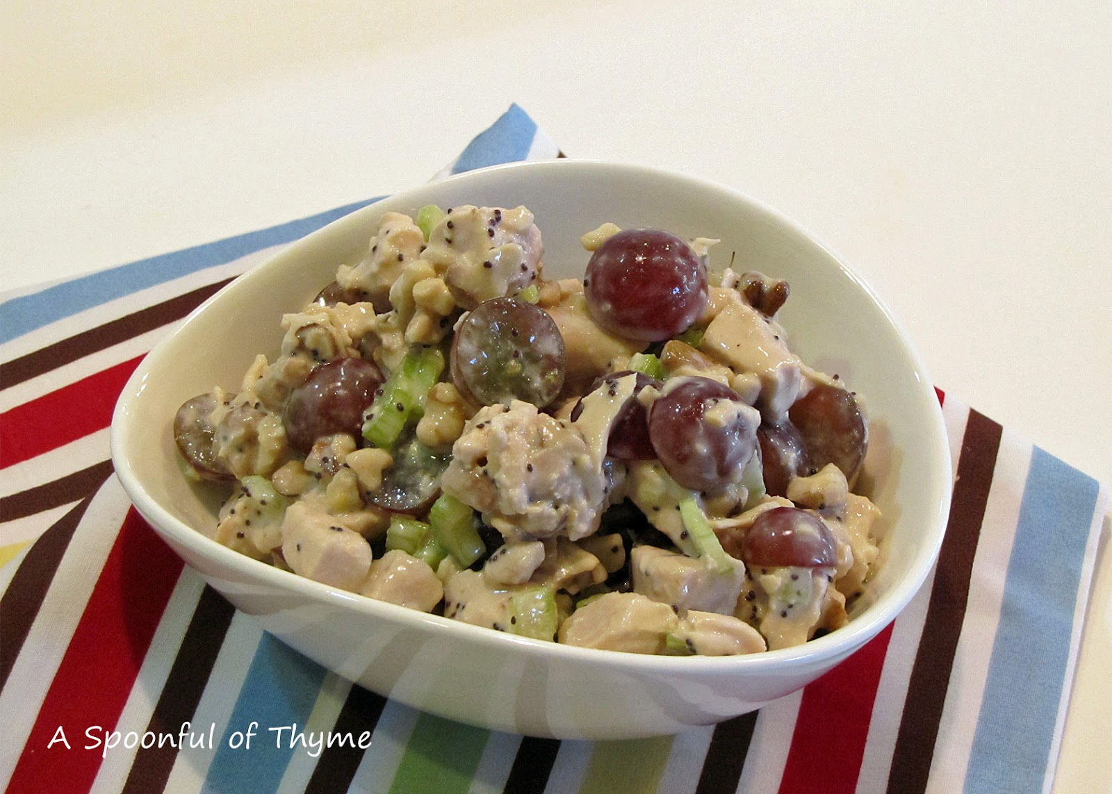 A Spoonful of Thyme: Whole Foods' Sonoma Chicken Salad
